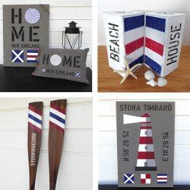 New England Home inredningsdetaljer passar in överallt!