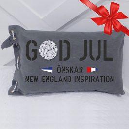 New England inspiration önskar God Jul och Gott Nytt År!
