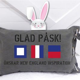 Glad påsk önskar New England inspiration.