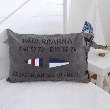 MARINA KUDDFODRAL I SLITEN CANVAS