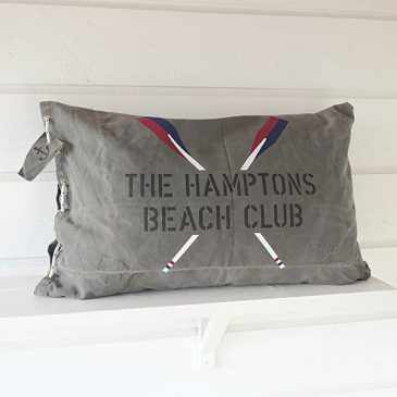 "KUDDAR I MARIN STIL ""THE HAMPTONS BEACH CLUB"""