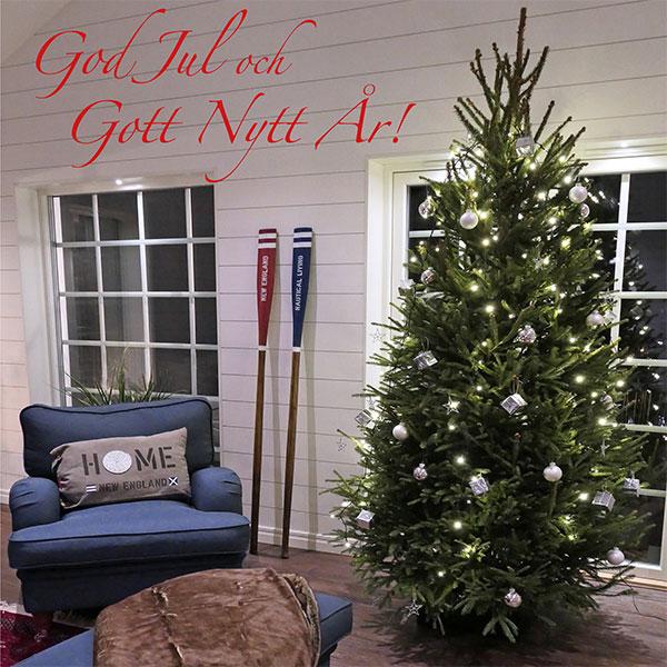 God jul önskar New England inspiration