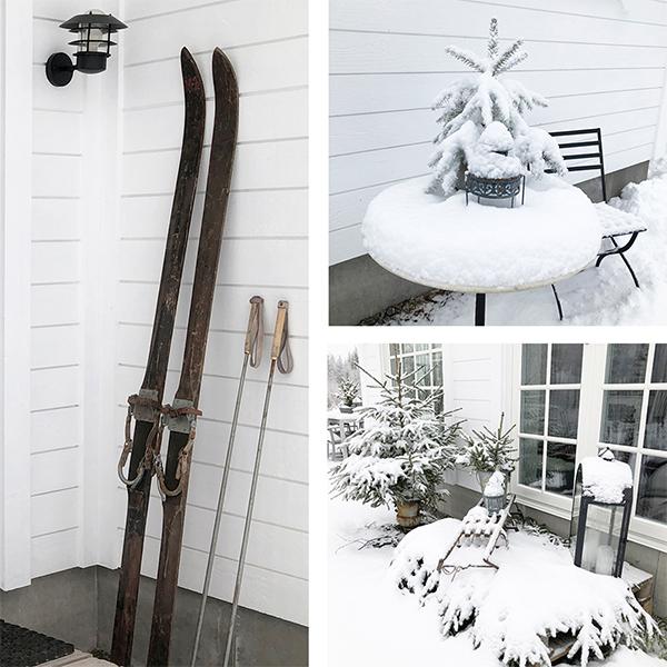 Vintern har kommit till New England