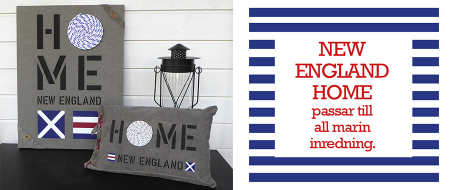 New England home passar till all marin inredning