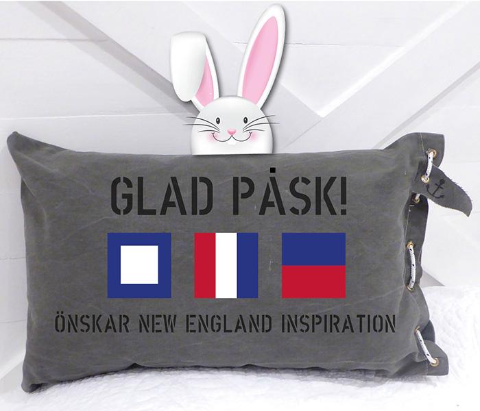 Glad påsk önskar New England inspiration.