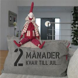 2 månader kvar tills jultomten kommer...